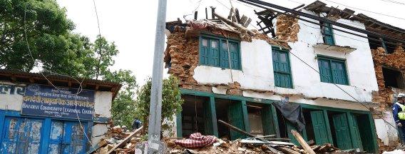 Search and Rescue teams reach Chautara, Nepal