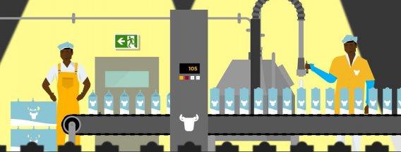 CSR milk factory