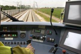 Train cockpit
