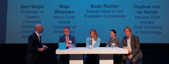 Marie Sklodowska Curie meeting panel - 20 years