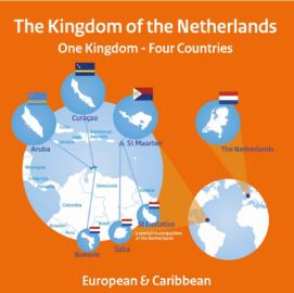 De landen binnen het Koninkrijk der Nederlanden