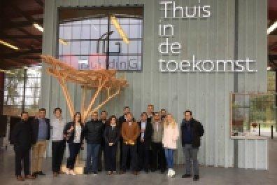 Group portrait at EET programme meeting