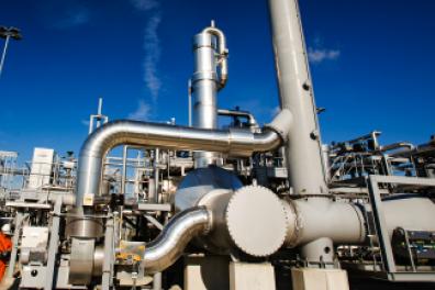Natural gas production at Slochteren's Eemskanaal site