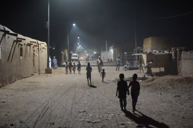 Mali Streetlighting project
