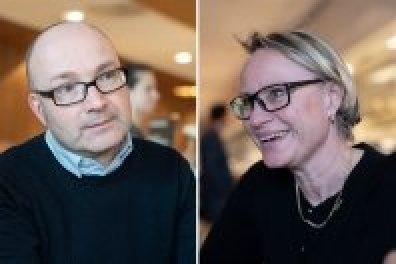 Guido Tendijck en Karin Bjorkman