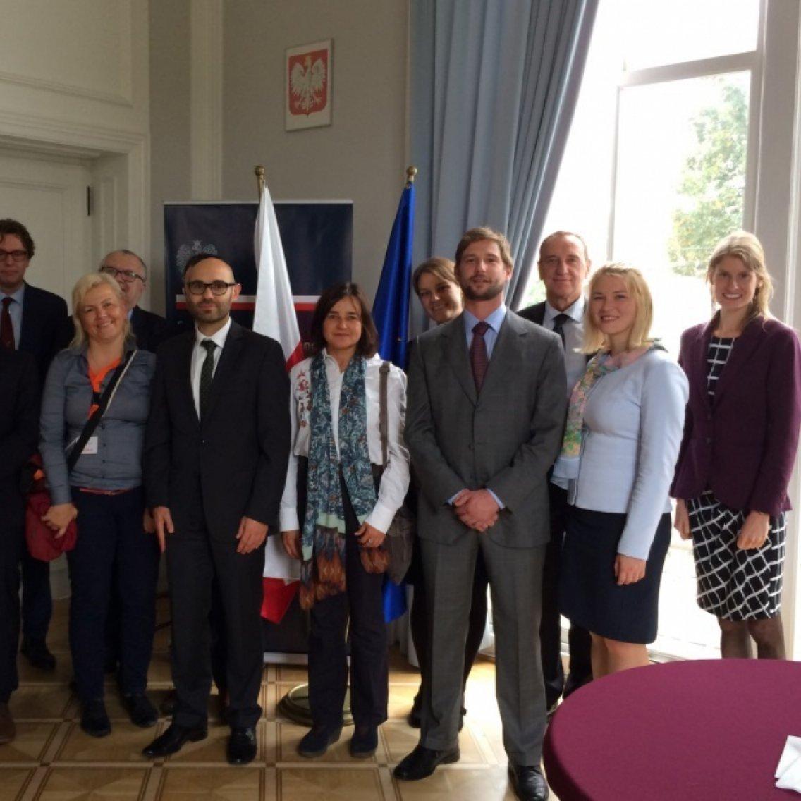 Dutch Visitors' Programmes IP Development cooperation and humanitarian aid Poland