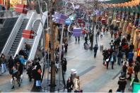 Koopgoot mall in Rotterdam